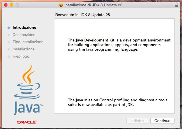 JDK - Installazione